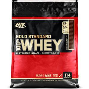 【Optimum Nutrition】ゴールドスタンダード 100%ホエイ、ダブル リッチ チョコレート、7.64 lb (3.47 kg):プロテイン紹介
