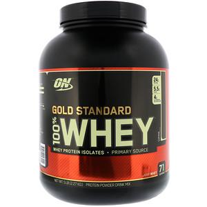 【Optimum Nutrition】ゴールドスタンダード 100%ホエイ、コーヒー:プロテイン紹介