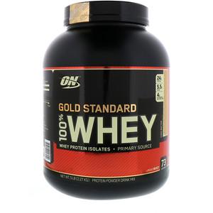 【Optimum Nutrition】ゴールドスタンダード 100%ホエイ、ケーキバター:プロテイン紹介