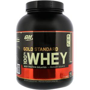 【Optimum Nutrition】ゴールドスタンダード 100%ホエイ、エクストリーム ミルク チョコレート:プロテイン紹介