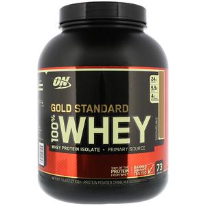 【Optimum Nutrition】ゴールドスタンダード 100%ホエイ、チョコレート モルト:プロテイン紹介