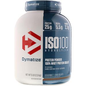 【Dymatize Nutrition】ISO 100 加水分解化、100%ホエイプロテインアイソレート