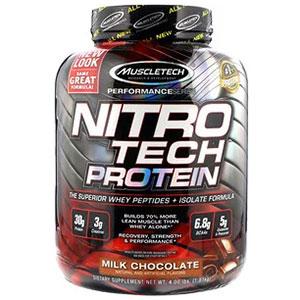 【Muscletech】ナイトロテック、ホエイペプチド&アイソレート、プライマリーソース